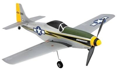 Ultra-Micro P-51D Mustang BNF RC Plane
