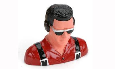 1/5 Pilot, Civilian w/Headphones & Sunglasses (Red)