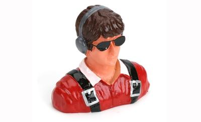 1/7 Pilot-Civilian,Young w/Headphones & Sunglasses