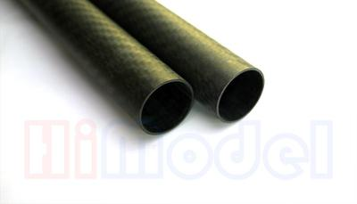 D22xd20x455mm 3K Matt Finish Carbon Tube