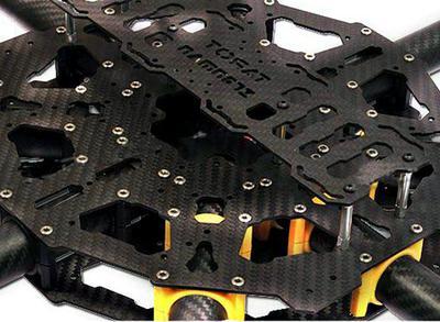 Tarot IRON MAN T1000 Octo-Copter Carbon Fiber Frame (KIT