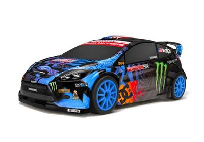 HPI Micro Ken Block RS4 GRC Fiesta 1/18 Drift Car HPI111224