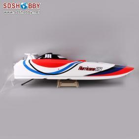 Hurricane 1300BP (B) Fiberglass Electric Brushless RC Boat