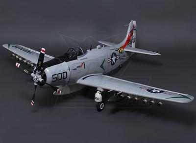 A-1 Skyraider 1600mm w/Retracts, Flaps & Air Brakes (PNF)