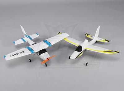 Hobbyking Micro Classic Light Airplane and Cyclone Glider Combo (PNF)
