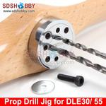 6Star Propeller Drill Jig/ Drill Guide with Screw for DLE30 DLE55 EME35 EME55 EME60 MLD35 DLA32 Gasoline Engines