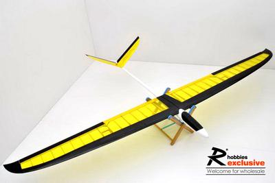 3 Channel RC EP 1.8M Passer Thermo Glider Sailplane