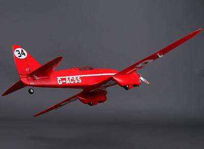 Durafly DH-88 Comet 1120mm w/retracts & lights (PNF)