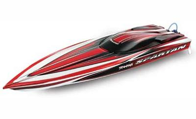 Traxxas Spartan Brushless 2.4GHz RTR Boat: Red