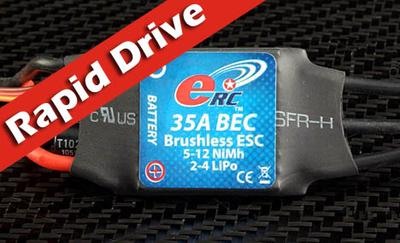 "eRC ""Rapid Drive"" 35A Brushless ESC"
