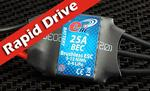 "eRC ""Rapid Drive"" 25A Brushless ESC"