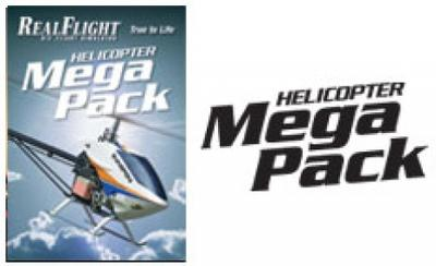 Great Planes RealFlight 6 Heli Mega Pack