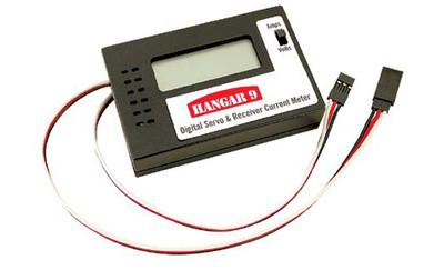 Digital Servo and Receiver Current Meter