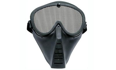 TSD Airsoft Face Mask, Black Alum.