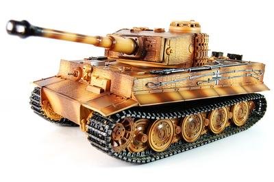 Taigen Advanced Metal RC Tank - Tiger Camo