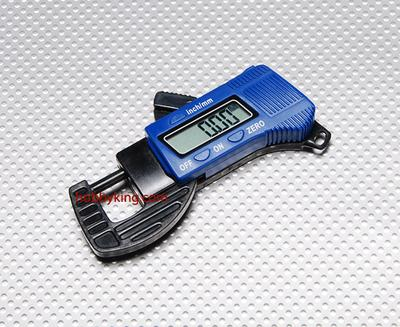 Carbon Fiber Composite Digital Thickness Gauge 12mm