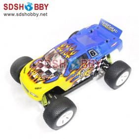 HSP 1/10th Scale Brushed RC Electric Powered Off-Road Truggy RTR (Model NO.: 94115) with 2.4G Radio, RC540 Motor, 7.2V 1800mAh Ni-MH Battery