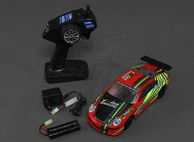 1/18 Scale 4WD RTR On-Road Drift Car (red)