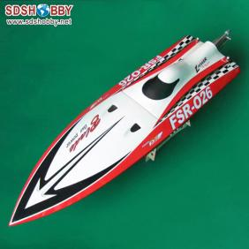Sharp Blade Rocket Racing Boat/ 26CC Gasoline Boat-Red