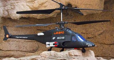 Giant Airwolf Rtf 4ch Rc Helicopter With Lipo Battery 7