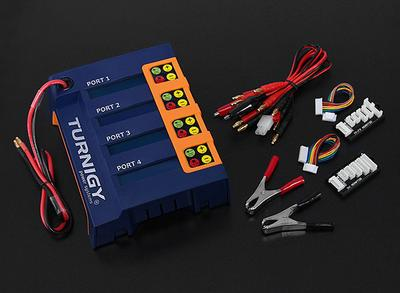 Turnigy 4x6S 400W Lithium Polymer Battery Charger