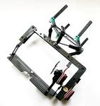 Carbon Fiber Controlable Tilt Unit for LOTUSRC T580P+  Quadcopter W/2 Digital Servos