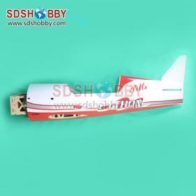 New Pitts S12 50cc Python Version RC Model Gasoline Airplane ARF /Petrol  Airplane (Red)