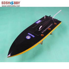 Mono Electric Brushless RC Boat Fiberglass with 2848 Motor+ Water-cooling ESC 80A
