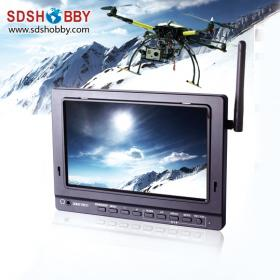 7in wireless LCD monitor for FPV Aerial Photography/ Built-in DVR and 5.8GHz wireless receiver
