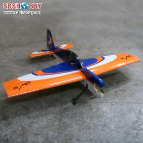 New 65in Yak54 20cc Profile RC Model Gasoline Airplane ARF /Petrol Airplane White & Blue & Yellow Color