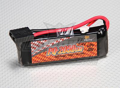 Volt On (Polyquest) 2050mAh 2S TXQ 35C Racing Lipo Pack
