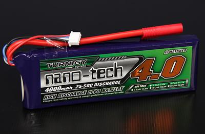 Turnigy nano-tech 4000mah 3S 25~50C Lipo Pack