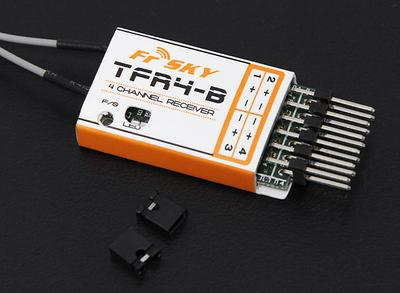 FrSky TFR4B 2.4Ghz 4CH Surface/Air Receiver FAAST Compatible