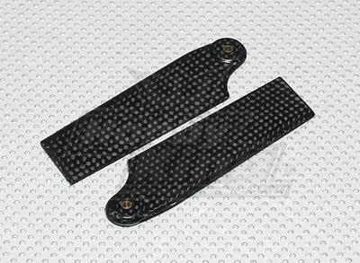 92mm Carbon Fiber Tail Blades(600size)(1pair)