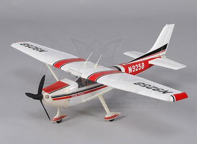 Micro 182 light aircraft 550mm w/2.4ghz TX (Mode 2) Charger/Lipoly (RTF)