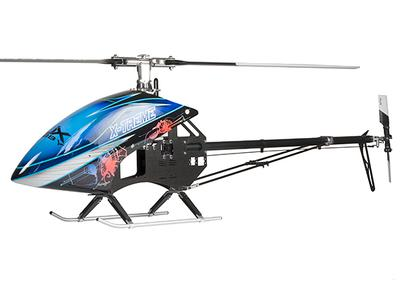 RJX X-treme 50 EP 600 Size Helicopter Kit (Torque Tube Version )