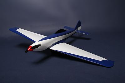 Electric Fiberglass Pylon Racer 930mm Blue (ARF)