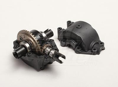 Differential Gearbox Unit - Turnigy Trailblazer 1/8