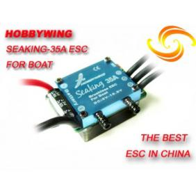 Hobbywing Seaking 35A Brushless ESC for Boat (Version2.0) with Water Cooling System