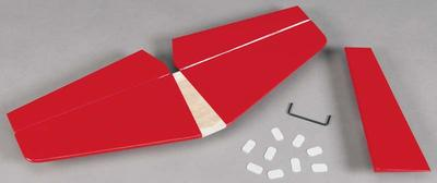 Great Planes Tail Surfaces Red Cosmic Wind EP ARF GPMA4207