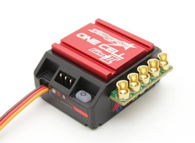 Turnigy TrackStar GenII One Cell 120A 1/12th Scale Sensored Brushless ESC