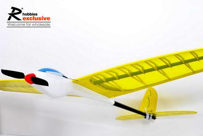 3 Channel RC 1.2M E-385 Funny Guy RC Glider - Red (US Warehouse)
