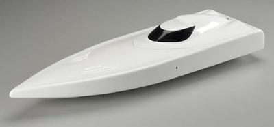 AquaCraft Hull Only with Cowl SV27 Brushless White AQUB7004