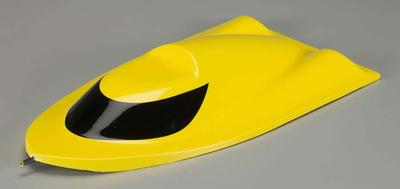 AquaCraft Fiberglass Cowl Yellow SuperVee 27 AQUB6204