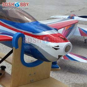 64in Windy-Wing F3A3D 110A RC Model Electric/Nitro Airplane ARF-Red & Blue & White Color