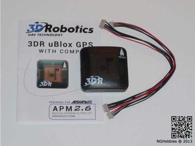 uBlox 3DR GPS with Compass Kit