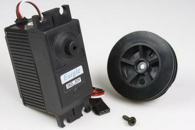 Eurgle 64.5g ≧12Kgf.cm 6 Circle RC Sailing Boat Water Resistance Servo Winch