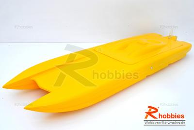 "36"" RC EP Fiberglass FRP Twin Power Catamaran ARR Racing Boat"