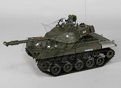 US-M41A3 Walker BullDog Light RC Tank RTR w/ Airsoft, Tx, Sound Generator & smoke