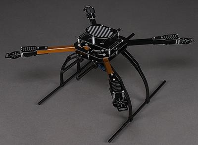 Hobbyking X650F Glass Fiber Quadcopter Frame 550mm